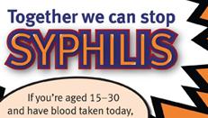 Syphilis campaign