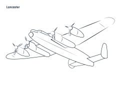 Sorores_RAFEvent_AircraftIllustrations_Lancaster